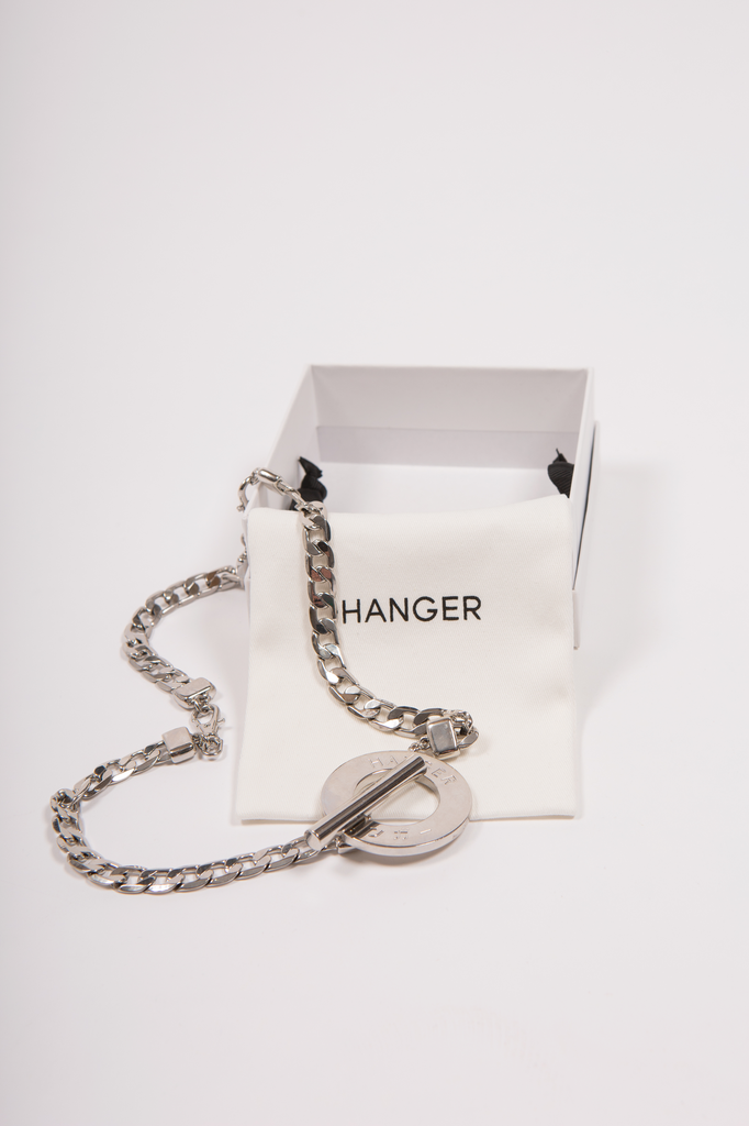 Maruchi Necklace Accessory - HANGER inc - Made in London Sustainable Ethical Designer Fashion Latex Rubber Clothing