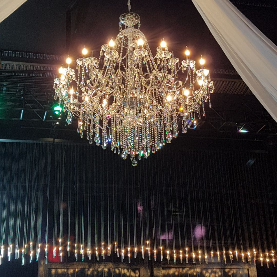 Cinderella Chrome Chandelier 150