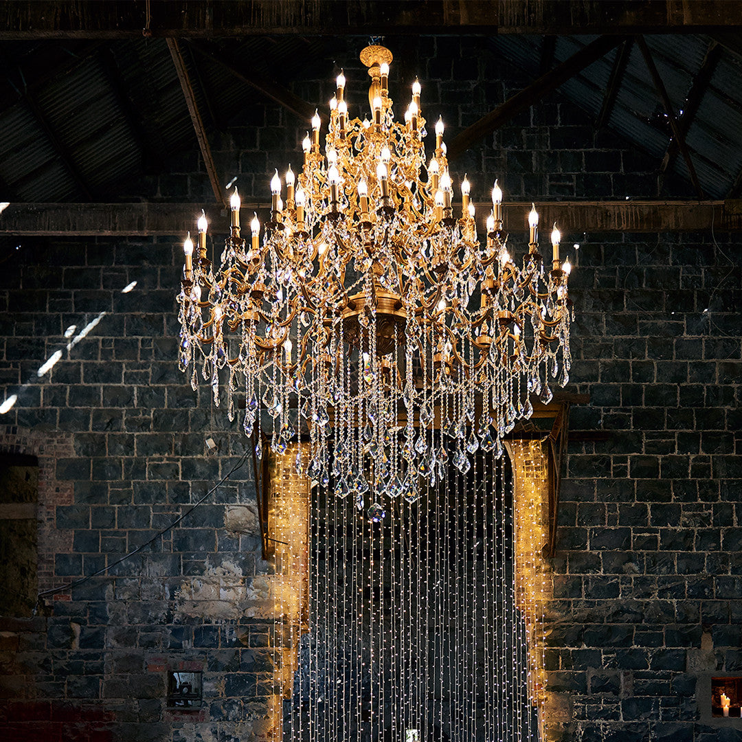 Huge Wedding Chandelier for Melbourne Wedding & Event Hire