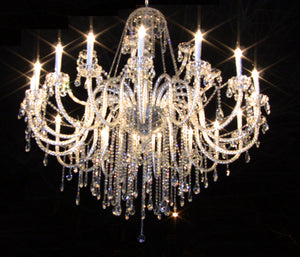 Victorian Cut Crystal Chandelier 150