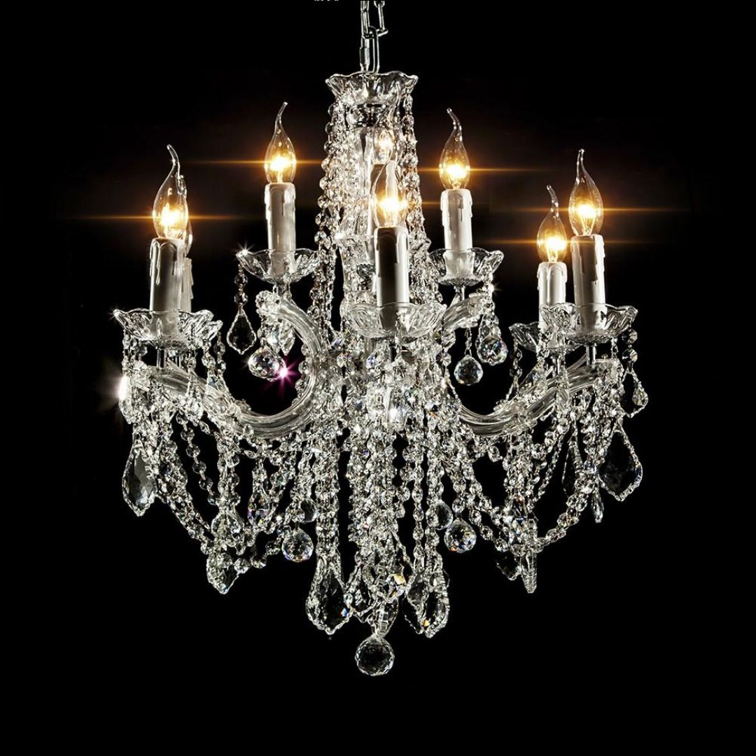 Elegance Chrome Chandelier 60