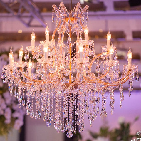 Elegance Gold Chandelier 110