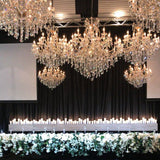 Elegance Gold Chandelier 130