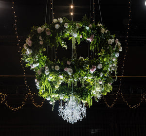 floral chandelier for hire melbourne