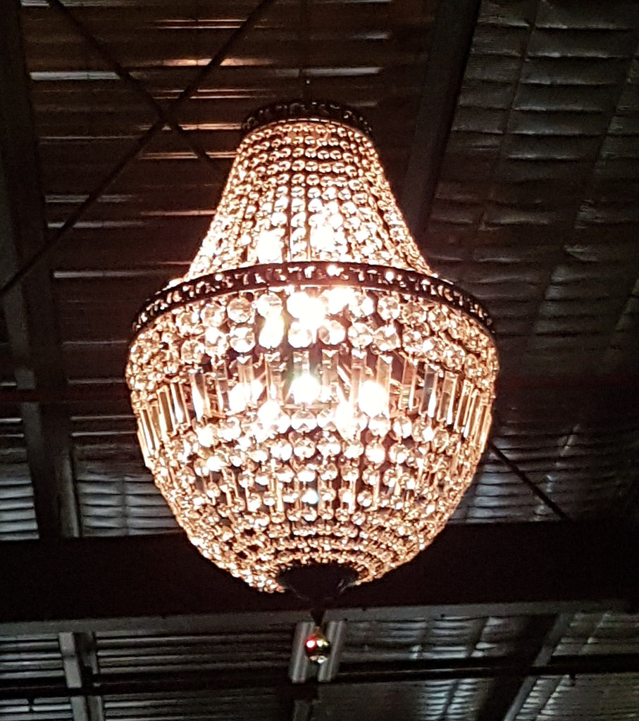 Paris basket chandelier 60 chandelier hire wedding chandeliers melbourne wedding event hire melbourne arubaitofo Images