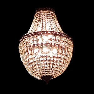 Paris Basket Chandelier 60