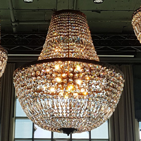 Paris Basket Chandelier 100