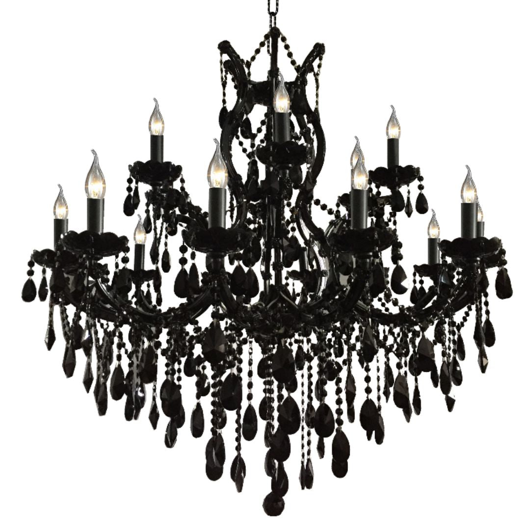 Noir Black Chandelier 110