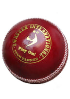 Sm Swagger Ball Red 156G Cricket