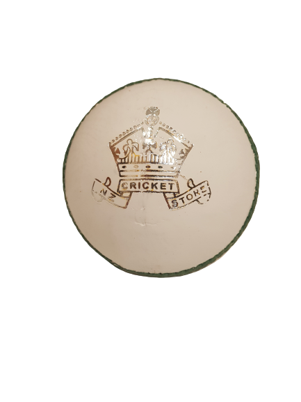 Nzc Crown Cricket Ball White Snr-156G Cricket Ball