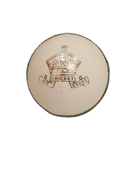 NZC Crown Cricket Ball White
