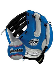 Franklin Sports 8.5 Inch Airtech Ball & Glove Lhg Blue Softball