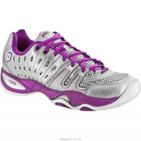 Prince Womens T22 Silver/Berry Tennis Shoes