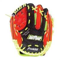 Franklin Left Hand Neogrip Glove Red/lime 9Inch Softball