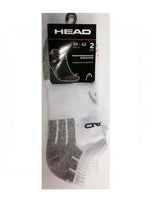 Head Sock Performance Ankle White 7-9Us Apparel & Clothing
