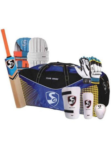 Sg Economy Complete Cricket Kit Mens Size With Kashmir Willow Bat