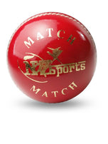 NZS Match Junior Machine Stitched Cricket Ball