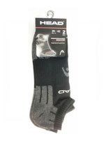 Head Sock Performance Ankle Black 10-12Us Apparel & Clothing