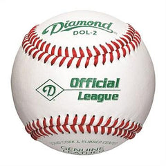 Diamond DOL2 leather Baseball - NZ Sports