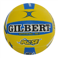 Gilbert Pulse Supporter Netball Size 5