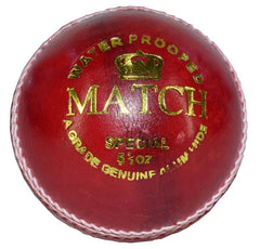 Gortonshire Tournament Special Cricket Ball Red (Alum Tanned) 12 Balls Cricket Ball