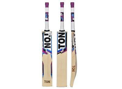 SS Ton Silver Edition English Willow Cricket Bat Size 3