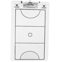 Gilbert Coaching Clip Board Netball