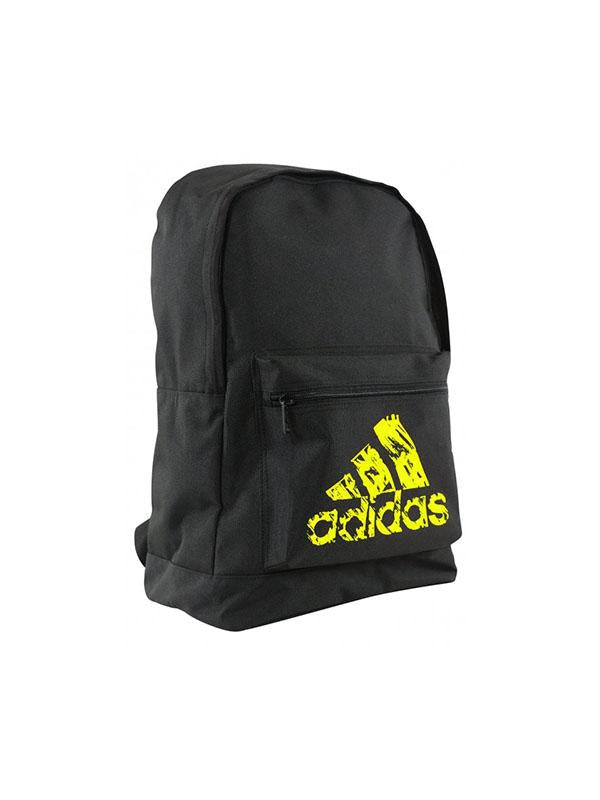 Adidas BACKPACK BLACK/SOLAR YELLOW - NZ Sports