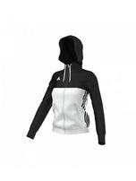 Adidas T16 Womens Hoody - Black/White - NZ Sports