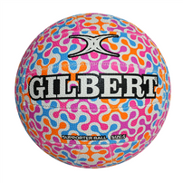 Gilbert Glam Spinner Netball Ball