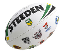 Steeden Nrl All Team Logo Ball Rugby League