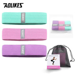 Aolikes 3Pcs Set Resistance Bands Fitness