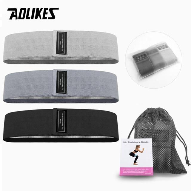 Aolikes 3Pcs Set Resistance Bands Universal 3Pcs 3 / China Fitness