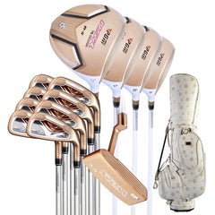 PGM Women's Golf Club Sets with Bag (13 Piece)  Gold Edition