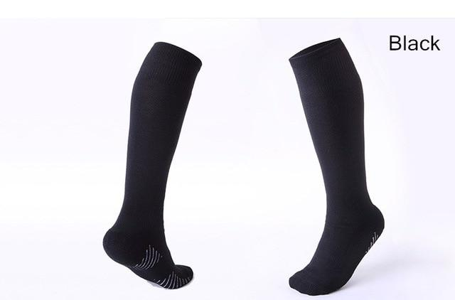 Rugby/football Knee Socks Black / For Kids