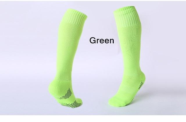 Rugby/football Knee Socks Green / For Kids