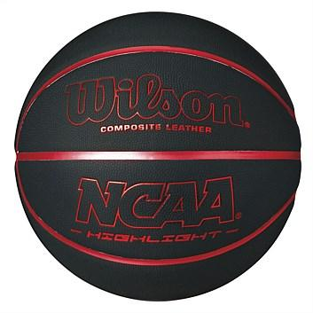 Wilson Ncaa Highlight Basketball Black/red