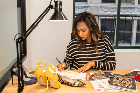 Career Change By Calculated Risk: Math And Engineering MBA Turned Shoe Designer Tiannia Barnes