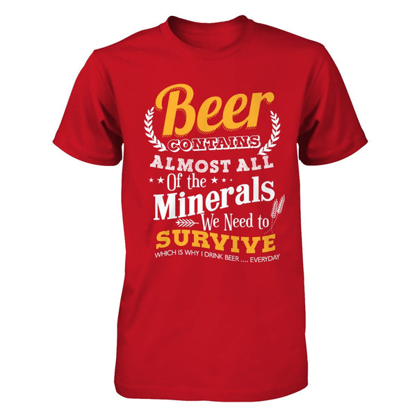 Beer for Health Shirt - The VIP Emporium
