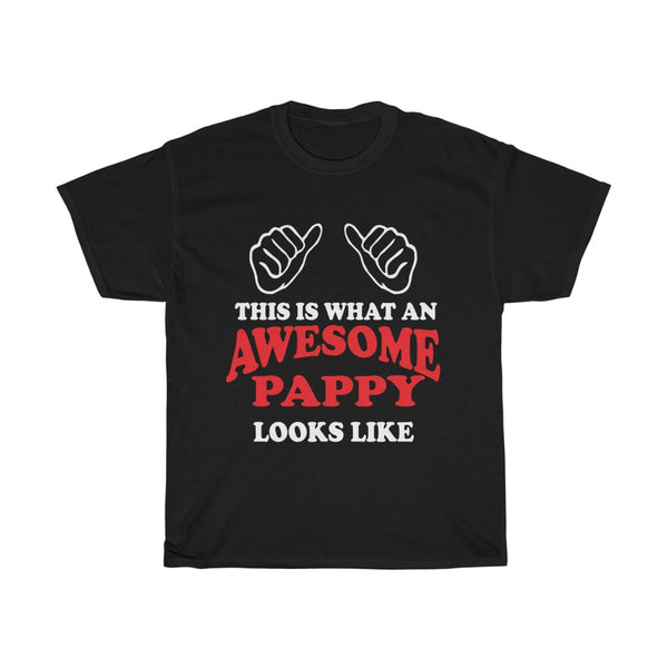 Awesome Pappy Gift Slogan T-Shirt - This is what an Awesome Pappy looks like - The VIP Emporium