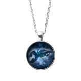 Scorpio horoscope necklace