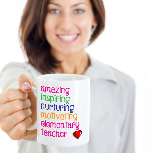 Amazing Inspiring Elementary Teacher - The VIP Emporium