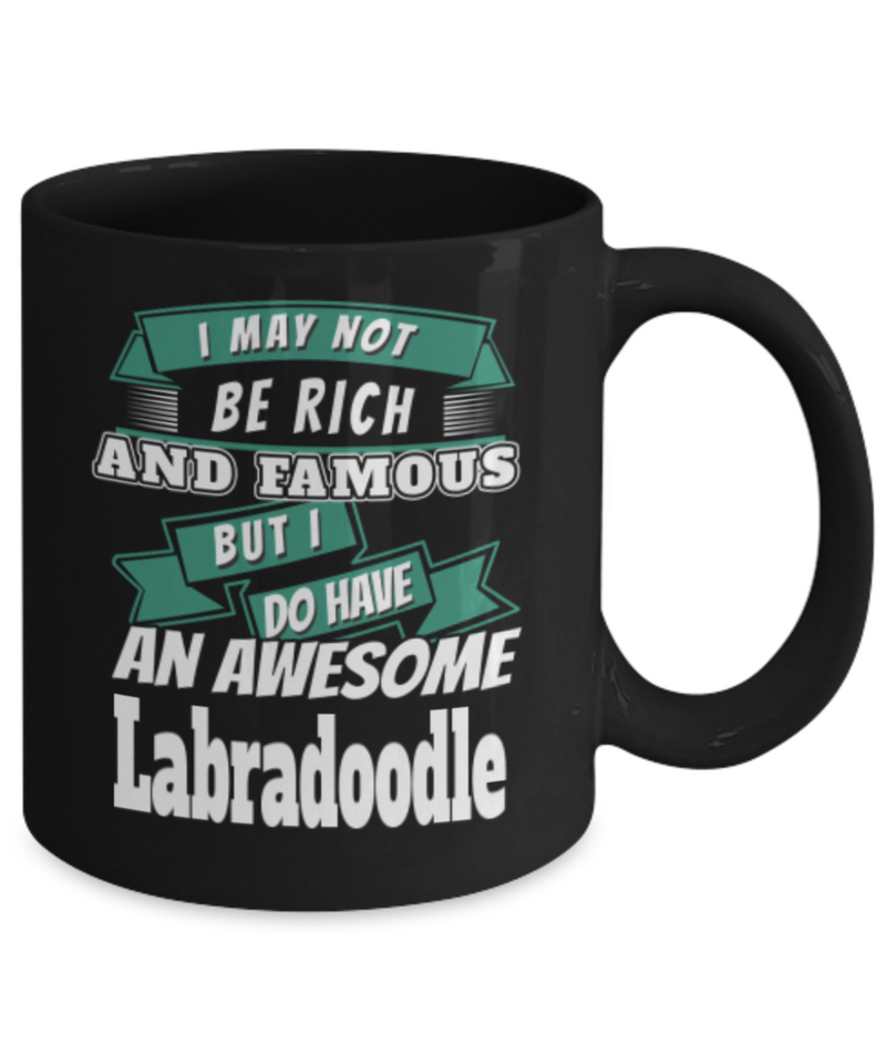 Labradoodle Gift Mug - For Labradoodle Dad or Mom