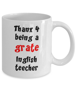 Funny gift for English Teacher