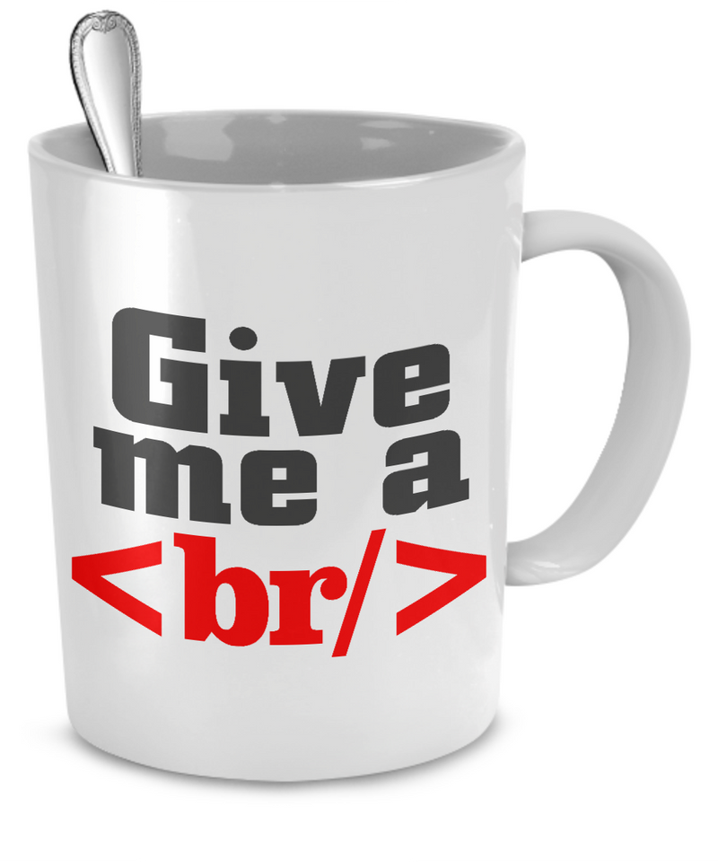 HTML Coder Mug - The VIP Emporium