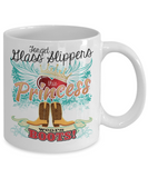 This Princess Wears Boots Mug