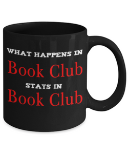 Book Club Mug - What Happens in Book Club