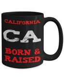 California Born Gift Mug - Gift for Californian
