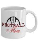Football Mom fun gift mug - The VIP Emporium