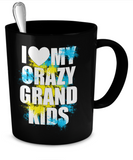 Crazy Grand Kids Mug - The VIP Emporium